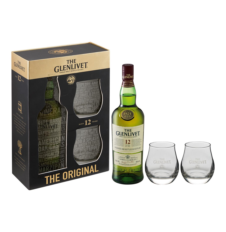 THE GLENLIVET 12 YO Single Malt Scotch Whisky (750ml